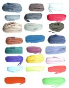 60cm BRITISH QUALITY Flat Shoe Laces  CHOICE OF COLOURS